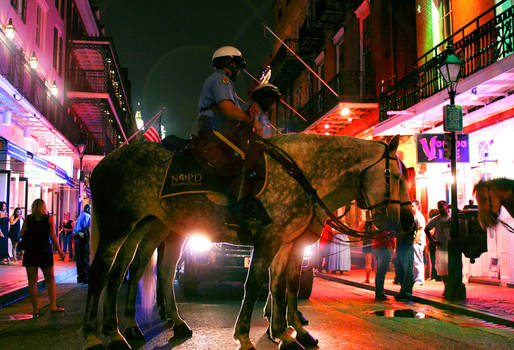 Another night in New Orleans...