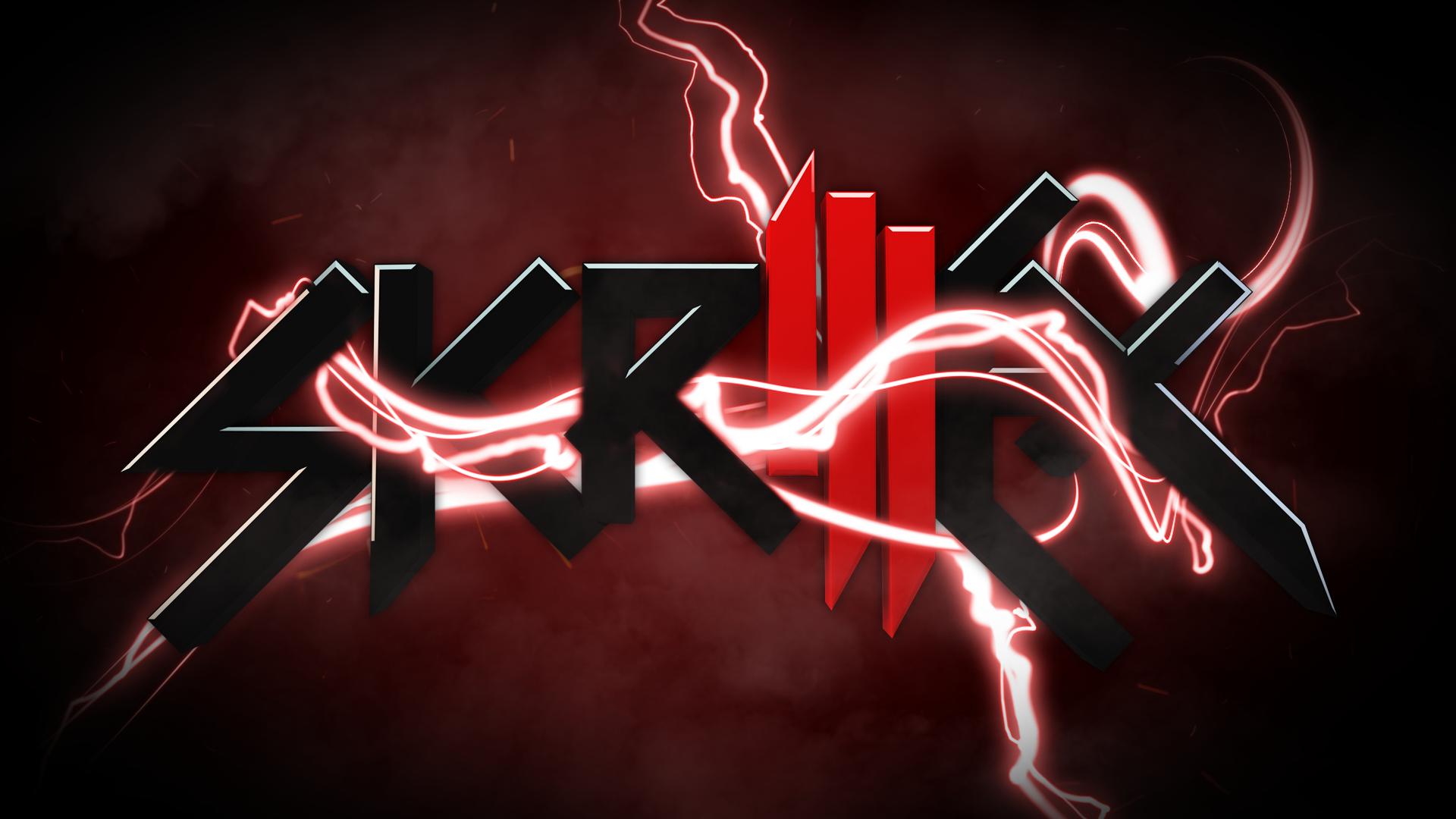 Red Skrillex Wallpaper 9-6-11 by xRi5iNG on DeviantArt