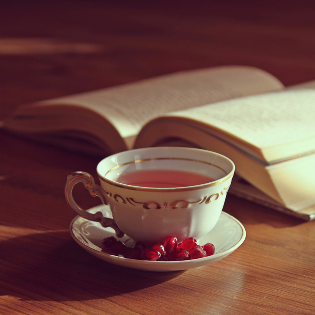 Pomegranate tea by vanillapearl