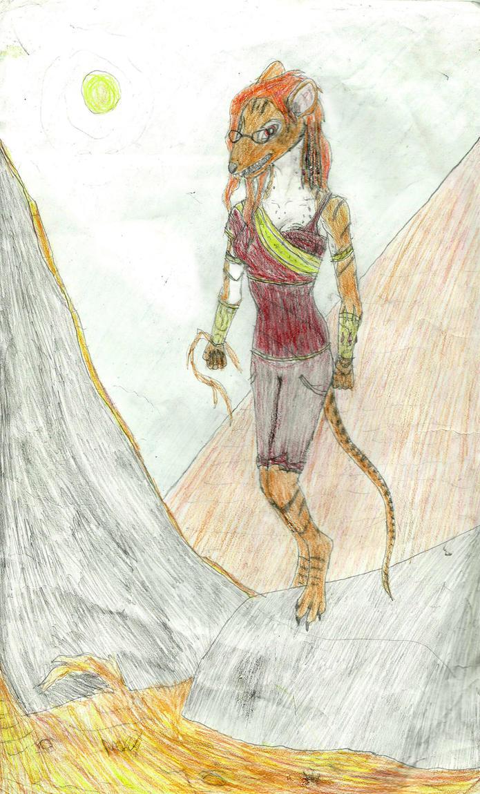 Siresse Colored by Willheimus