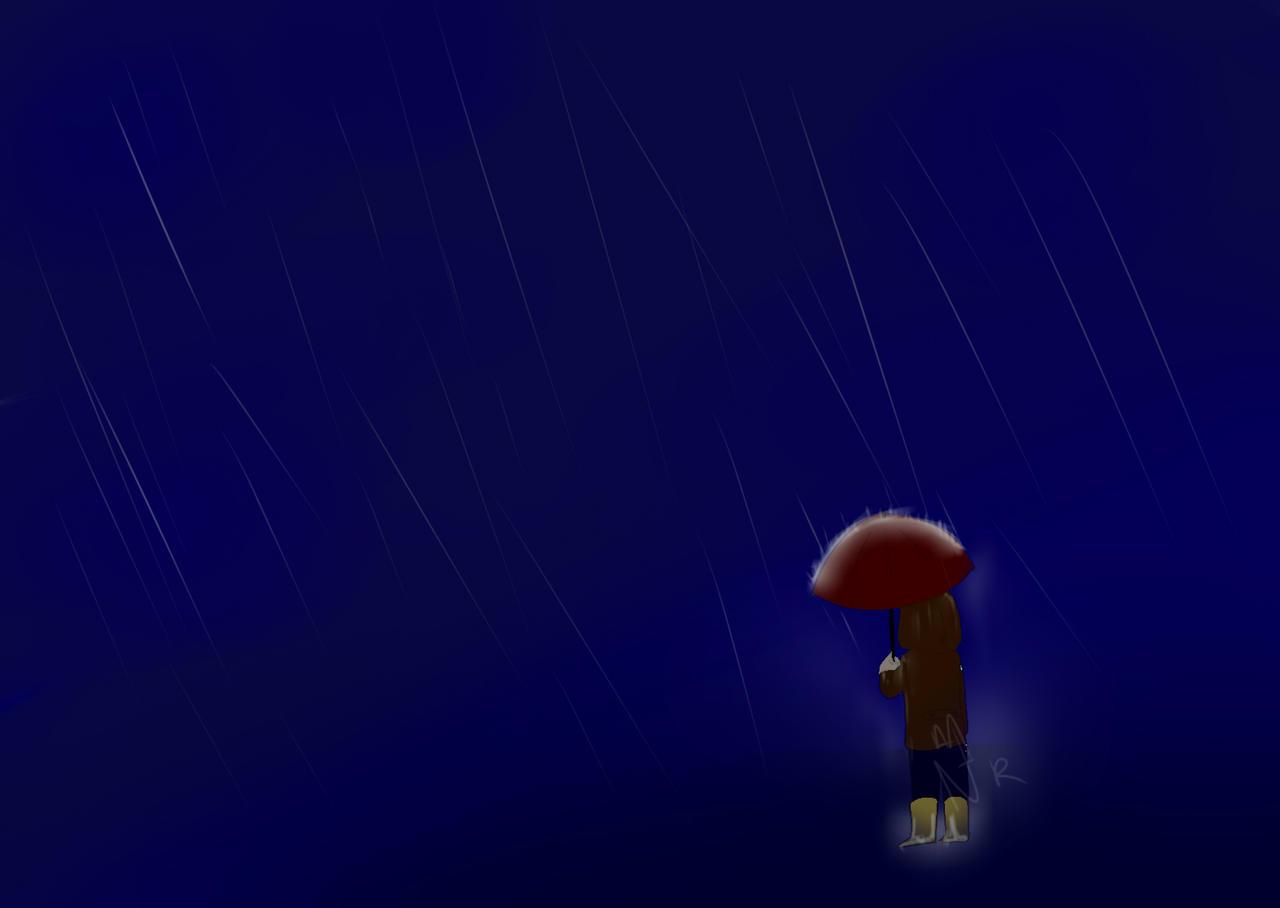 Rainy Days  by burningblazecat