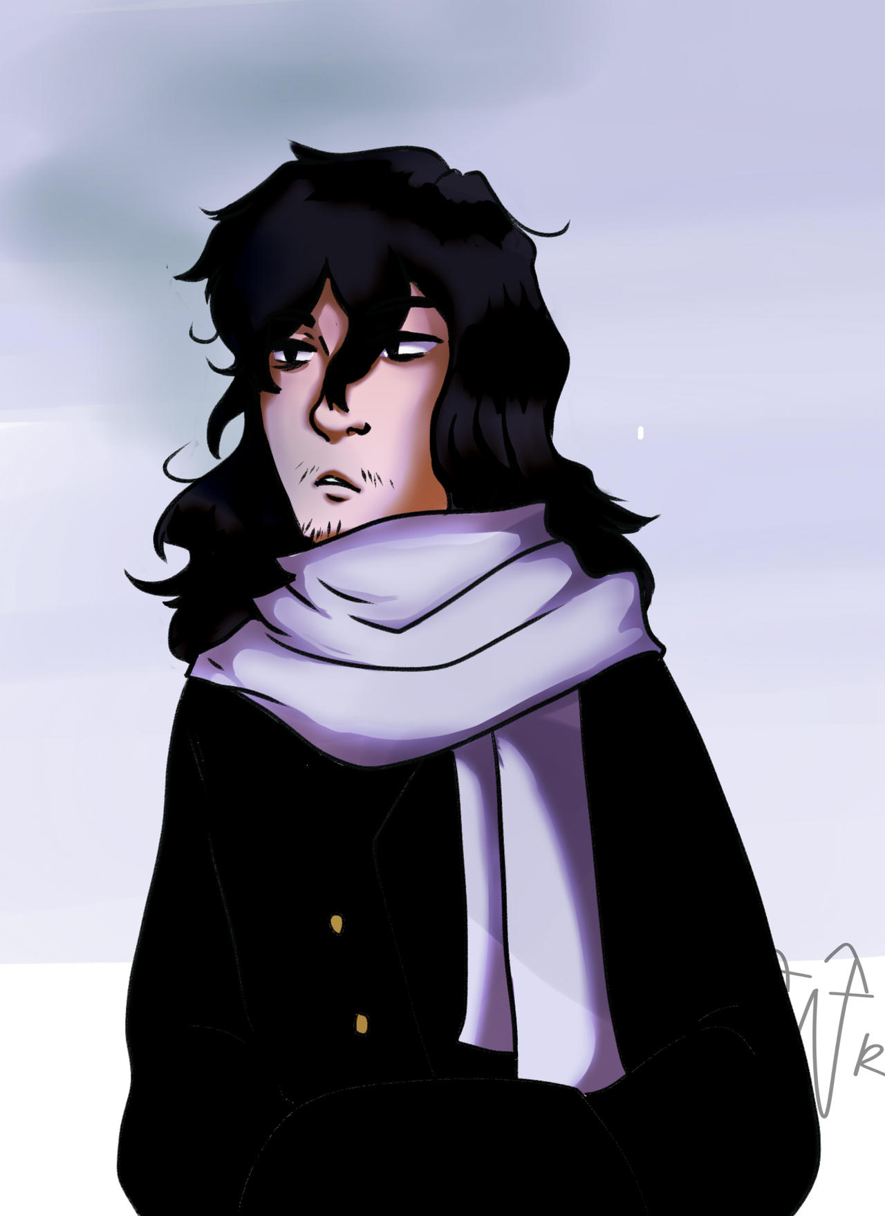 Aizawa by burningblazecat