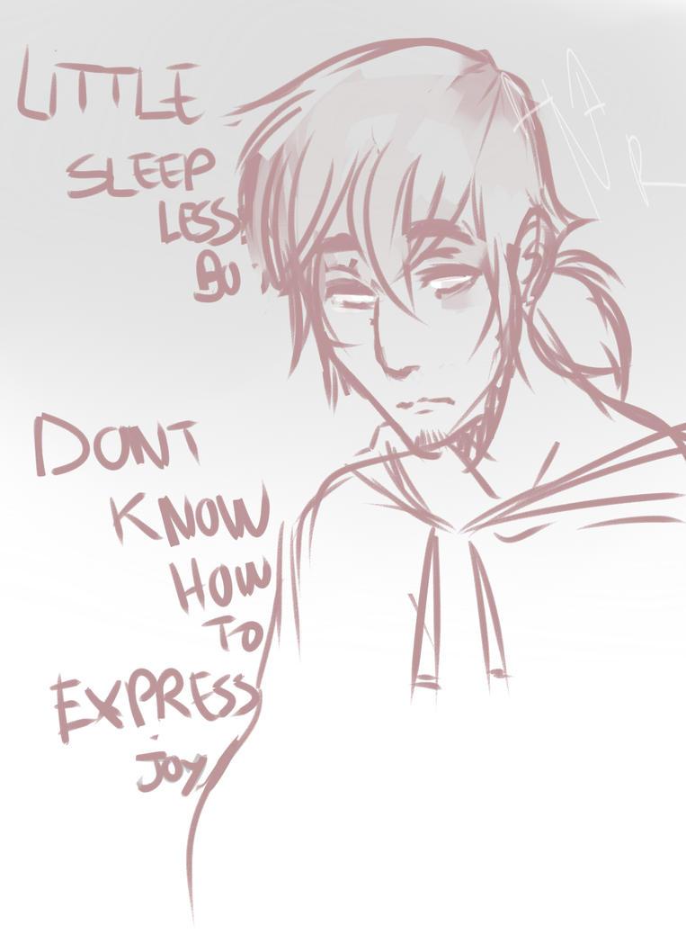 Sleepless Vincent by burningblazecat