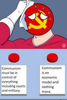 Communist Contradiction by Graeystone
