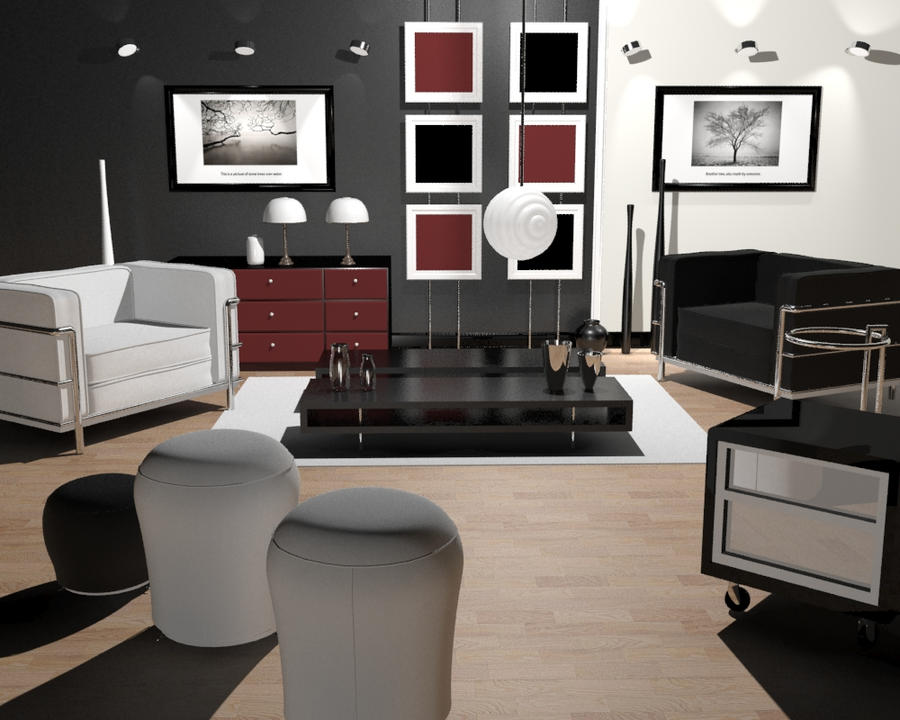 Modern interior design by shadowangelsblade on deviantart for Sims interior designs 1