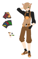 RWBY OC- Paige Player by SnowySnowflakes