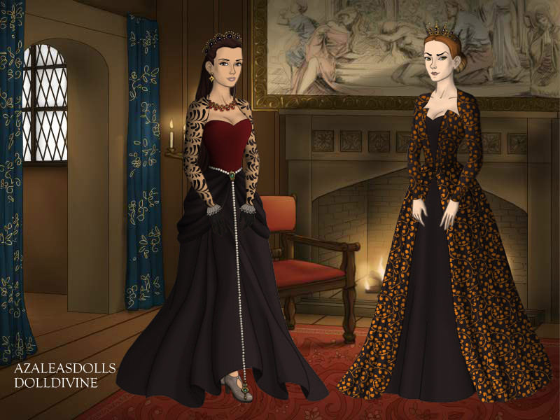 Mary and Catherine in The Plague by TLKFANKING