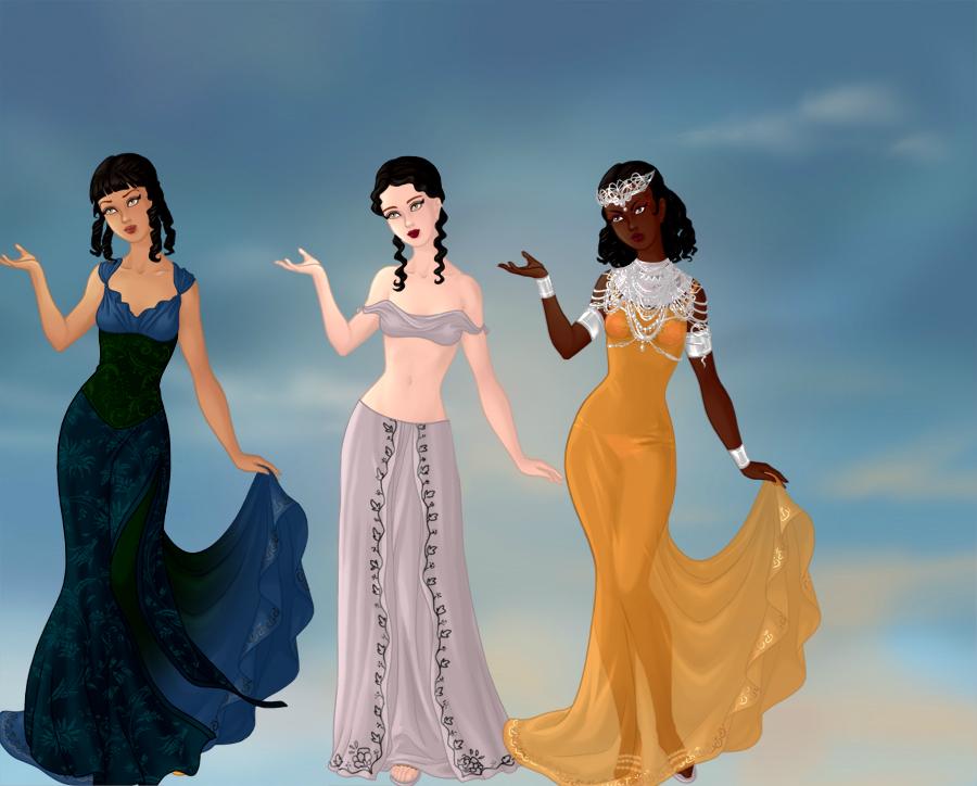 Favorite Goddesses pt 1 by TLKFANKING
