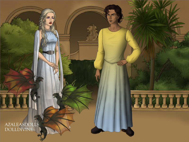 The King and Queen of Meereen by TLKFANKING