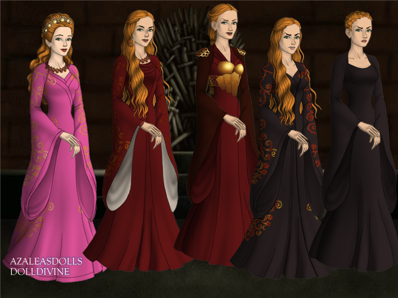 Cersei's Costumes by TLKFANKING