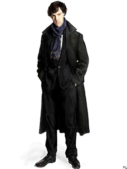 Tegaki - BBC Sherlock by Sukautto