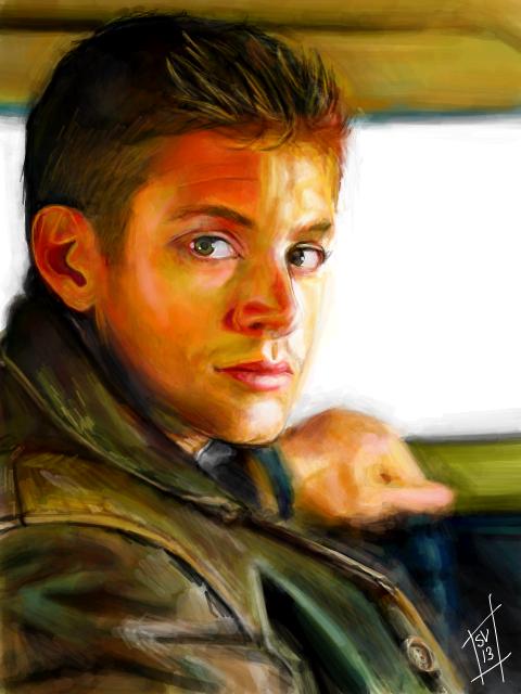 Tegaki E - Dean Winchester by Sukautto