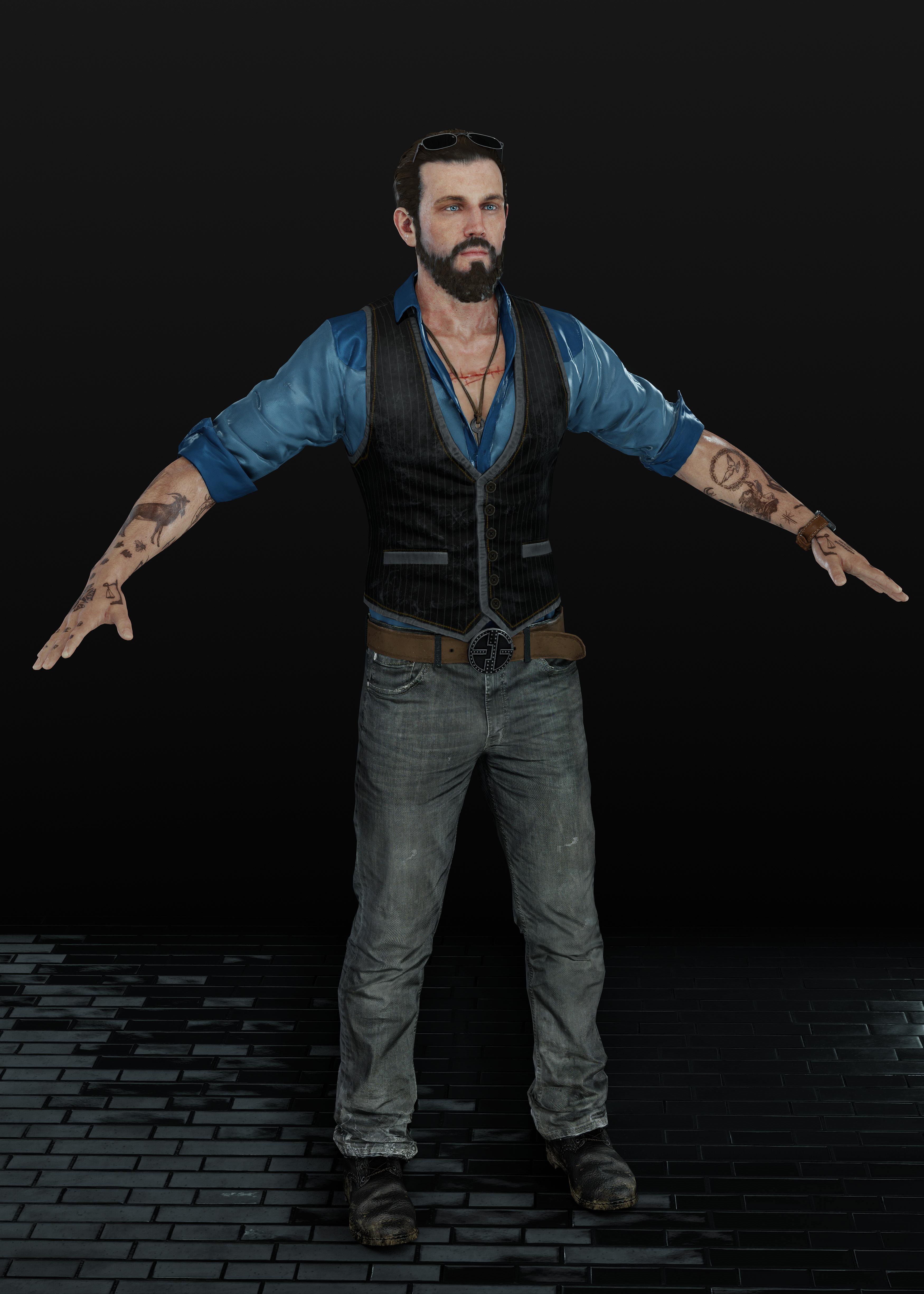 Far Cry 5 John Seed By Heliosal On Deviantart