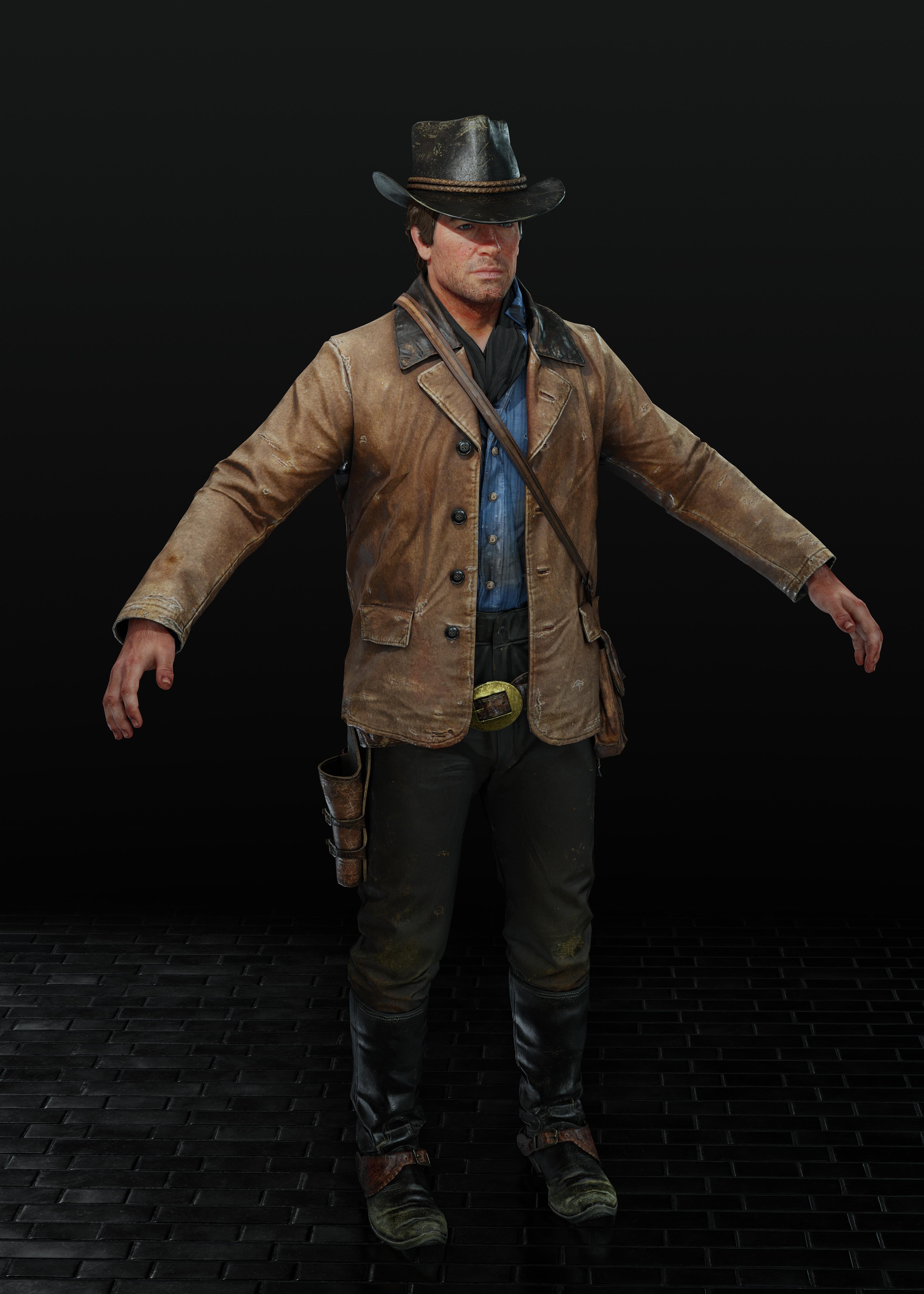 Red Dead Redemption 2: Arthur Var. 4