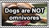 Dogs are carnivores by uglystamps