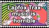 Lapfox Trax sucks by uglystamps