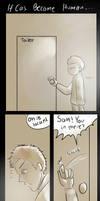 Castiel's Toilet Accident by amidarosa