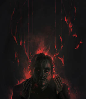 Incinerated mind by amidarosa