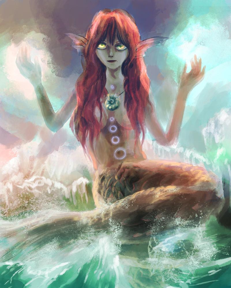 Sorceress of the Sea by amidarosa
