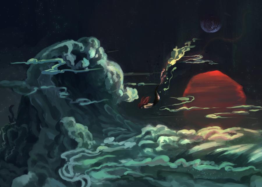 Ocean of Dreams by amidarosa