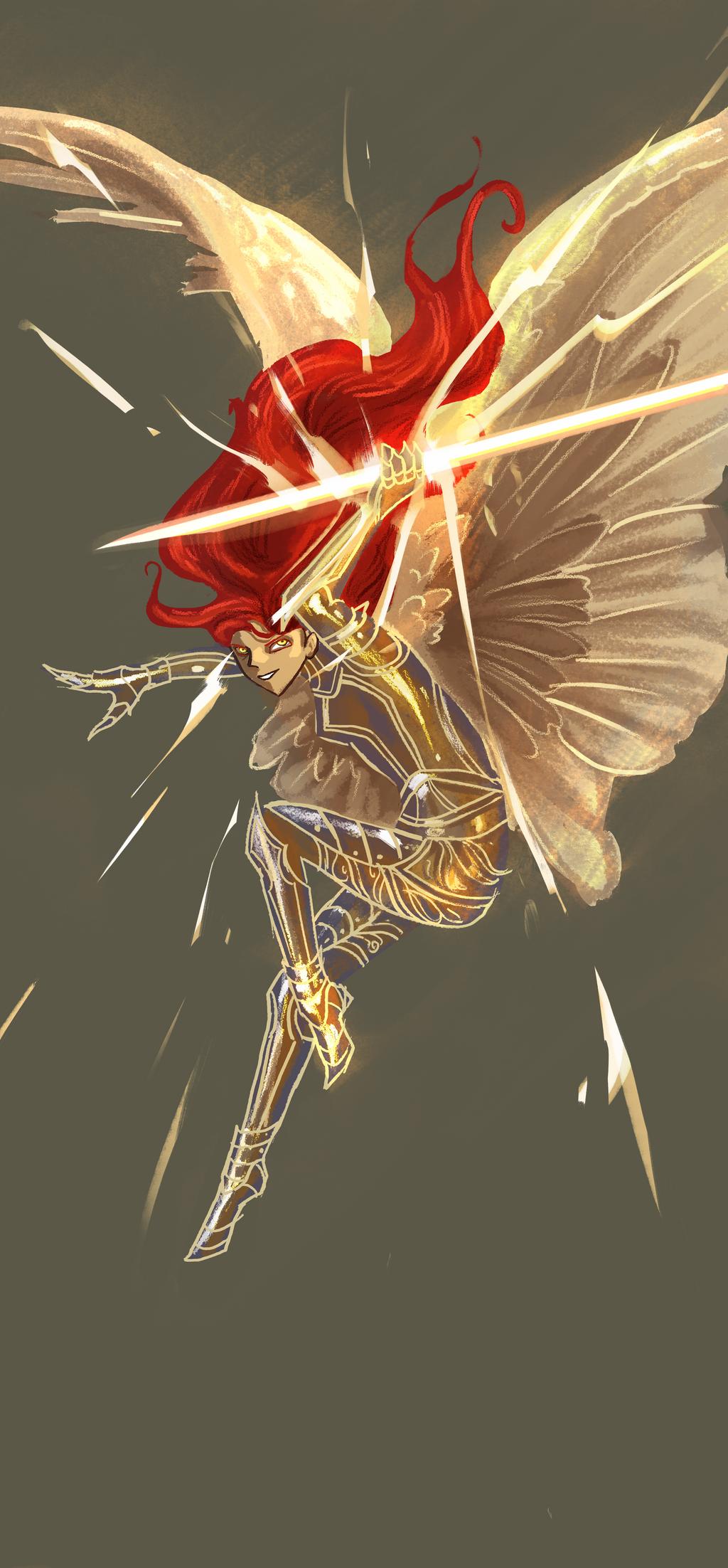 Battle Angel Character Design 2 by amidarosa