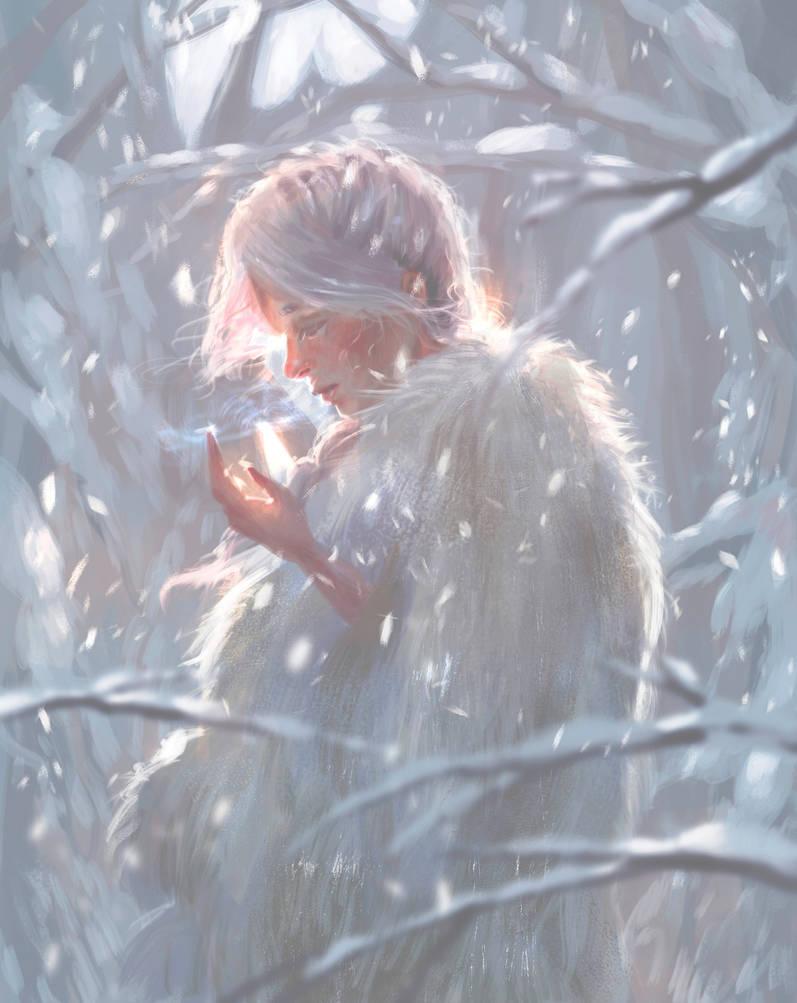 Winter spirit by amidarosa