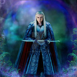 THRANDUIL AND ORCRIST