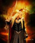 Shadow Of Sword by QuelleElenath