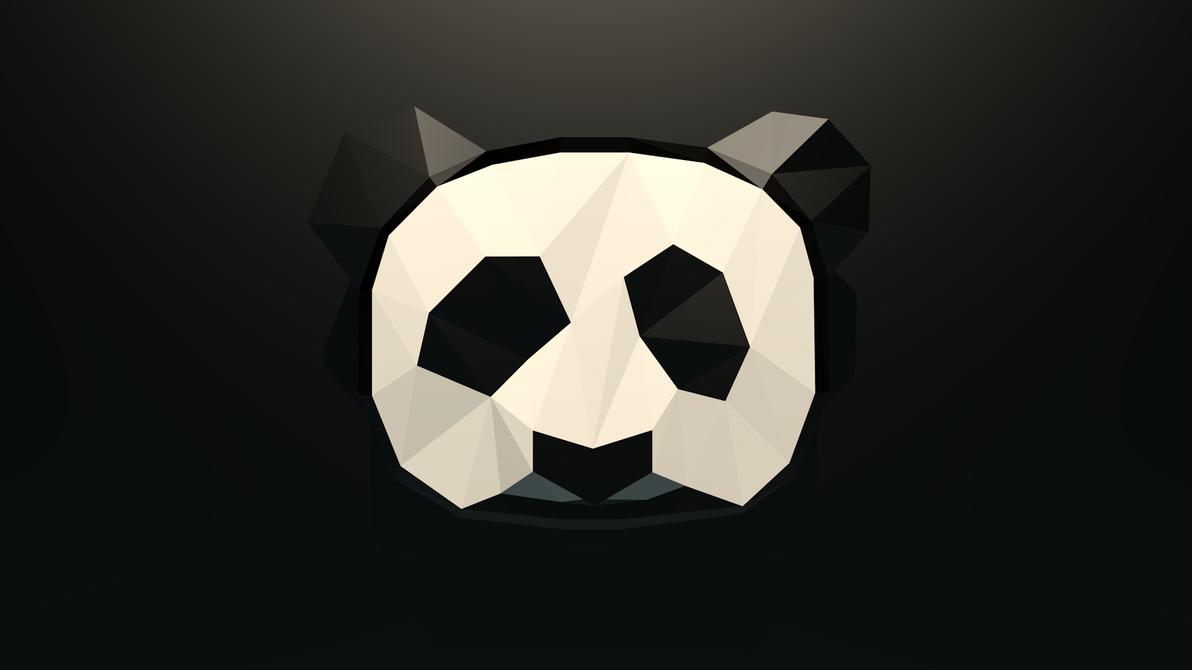 Low-Poly Panda Wallpaper by Coopernikus ...