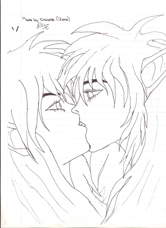 Couple kissing drawing drawing kissing easy drawing o