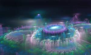 Elvin forest City 3D Fractal