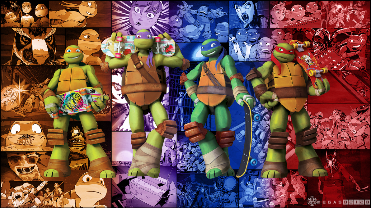 TMNT 2012 1080p Wallpaper By Omegas82128