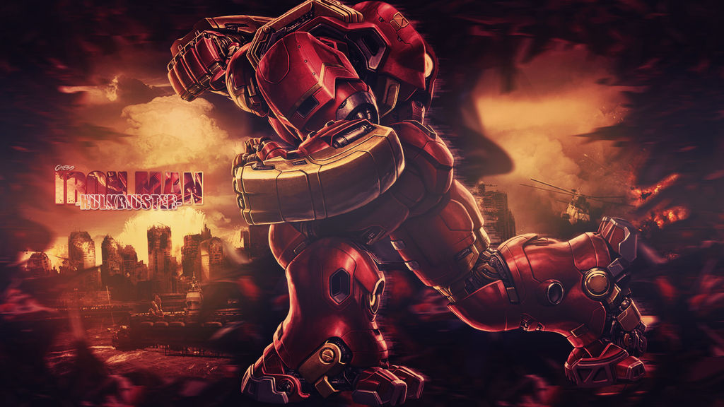 Iron Man Hulkbuster Wallpaper 1080p By Omegas82128 On Deviantart