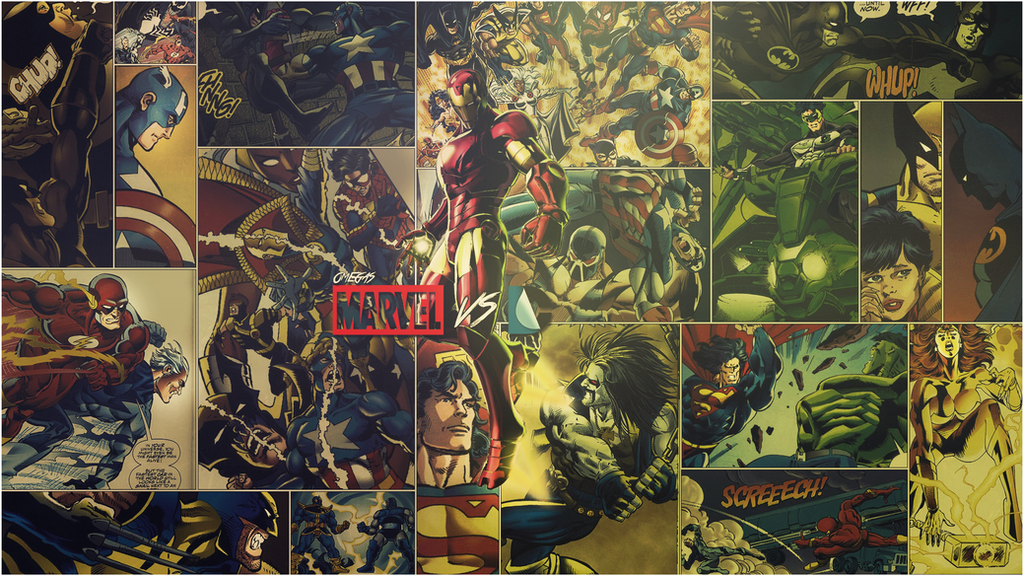 marvel dc wallpaper by - photo #36