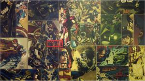 Marvel vs DC - Comic style - 1080p Wallpaper