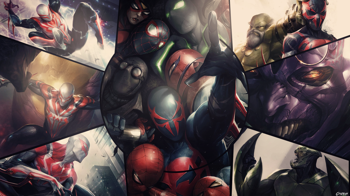 Cool Spiderman 2099 Wallpaper: Spider-man 2099 Wallpaper By Omegas82128 On DeviantArt