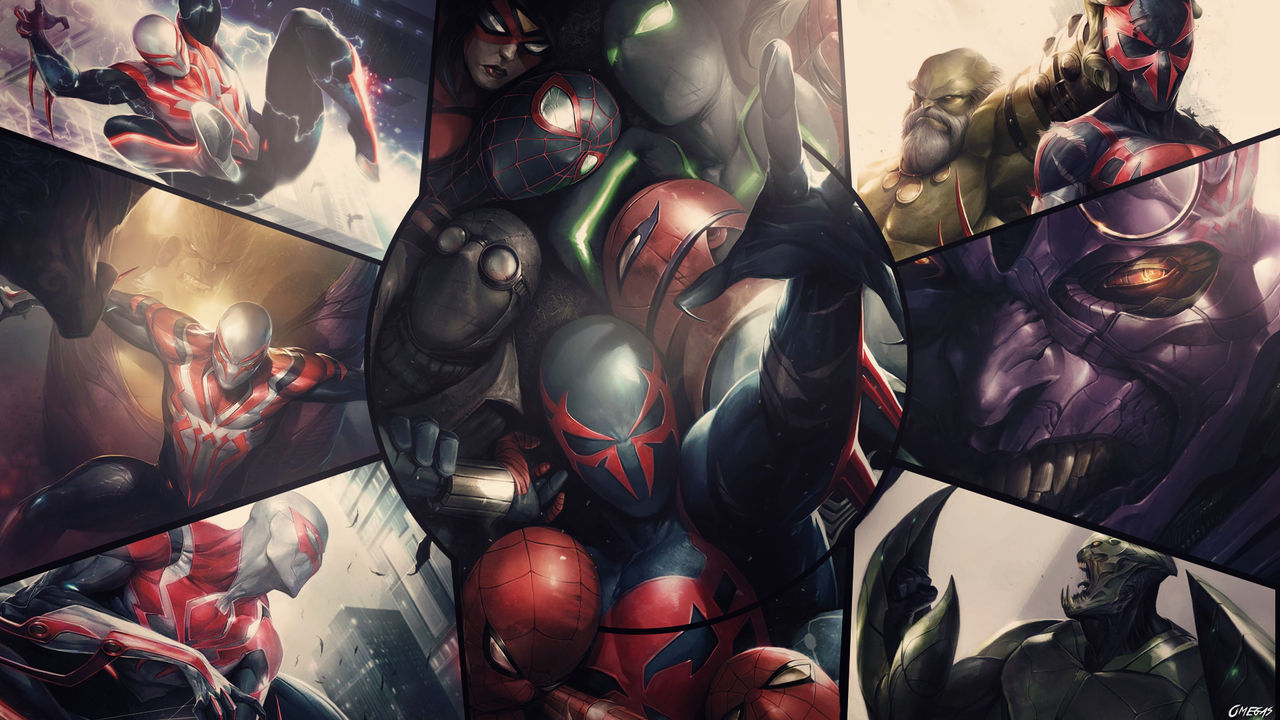 Spider Man 2099 Wallpaper By Omegas82128 On Deviantart
