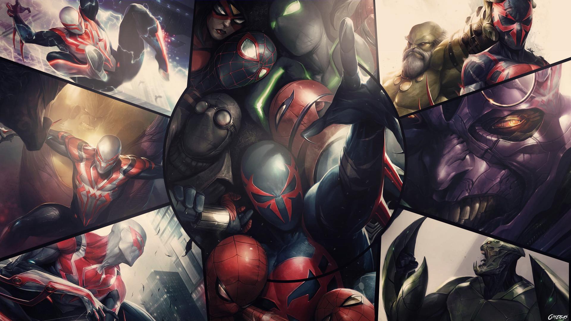 Spider-man 2099 Wallpaper