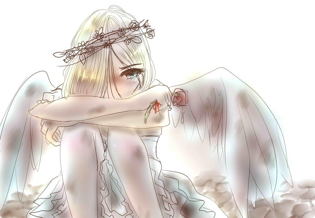 Broken Angel by roseycrystals730