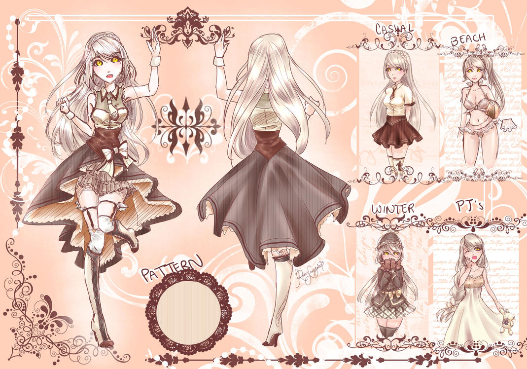White Chocolate Concept Designs by roseycrystals730