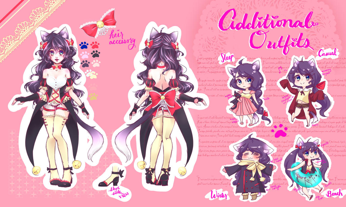 Kitty Chara Sheet [COM: Siikos] by roseycrystals730