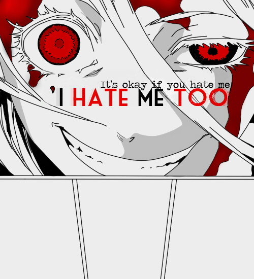 I Hate Me Too by XRainingxColourX on DeviantArt