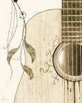 Guitar leaf by WotanaZ