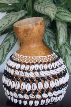 COWRY SHELL SEKERE