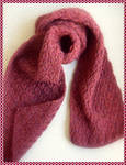 HAND KNITTED SCARF by Melalina