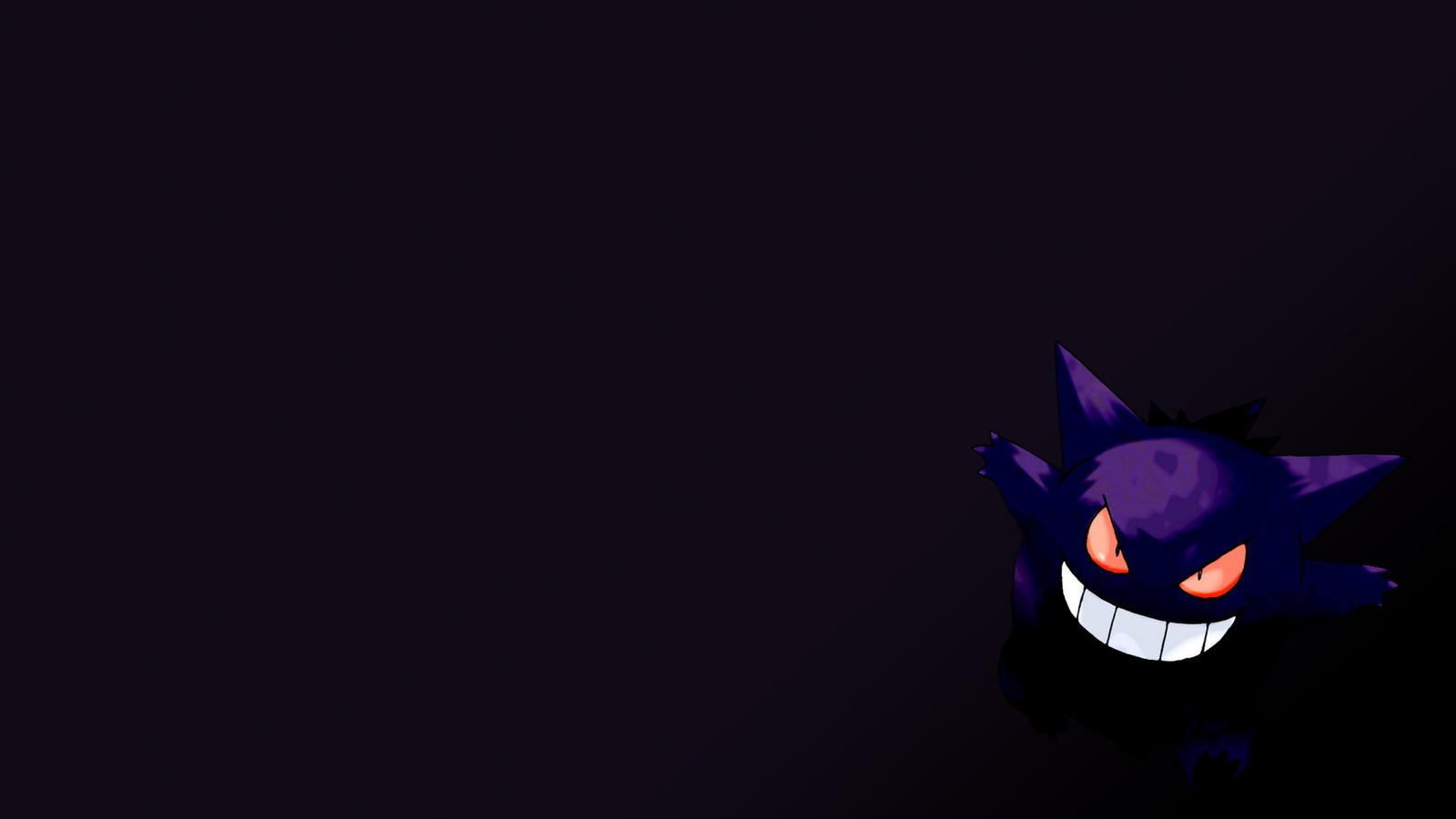 Gengar Wallpaper by Sad7Statue on DeviantArt