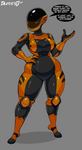 Zeta - Robot OC Redesign by ImaDeeJ