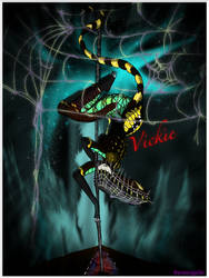Vickie the weaving spider dancer