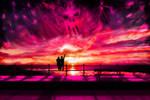 Sunset darkness