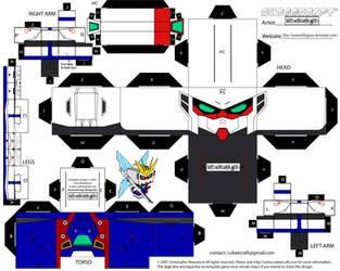 GX-9900 Gundam X Cubee Page1 by StormofDragons